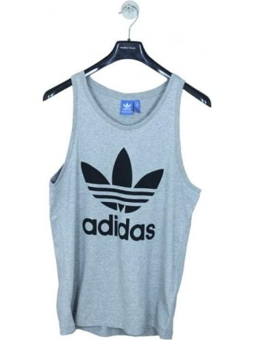 adidas Originals Trefoil Tank - Grey
