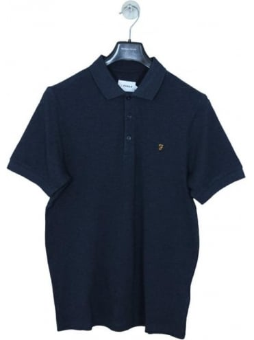 Farah Blaney Polo - Navy