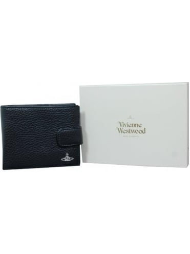 Vivienne Westwood Anglomania Milano Flap Fastening Wallet - Black