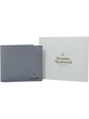 Vivienne Westwood Anglomania Kent Wallet with Coin Holder - Grey