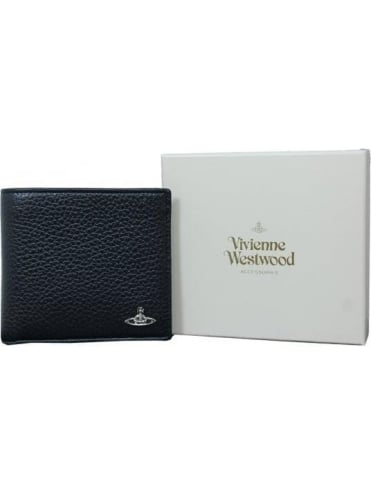 Vivienne Westwood Anglomania Milano Coin/Card Wallet - Black
