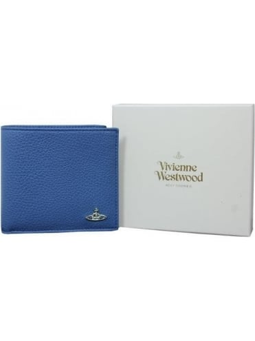 Vivienne Westwood Anglomania Milano Coin/Card Wallet - Blue