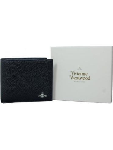 Vivienne Westwood Anglomania Milano Credit Card Wallet - Black
