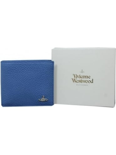 Vivienne Westwood Anglomania Milano Credit Card Wallet - Blue