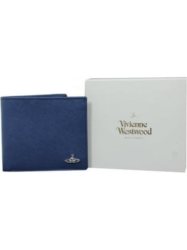 Vivienne Westwood Anglomania Kent Wallet With Coin Holder - Blue