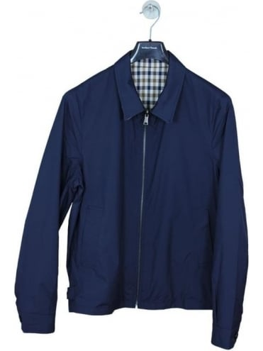 Aquascutum Brackenbury Reversible Jacket - Navy