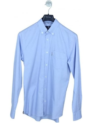 Aquascutum Ashford Oxford Shirt - Light Blue