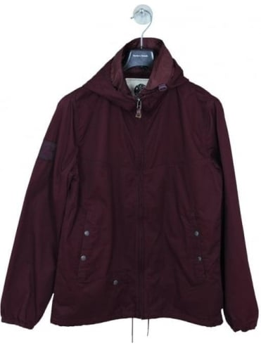 Pretty Green Sevenoaks Jacket - Burgundy