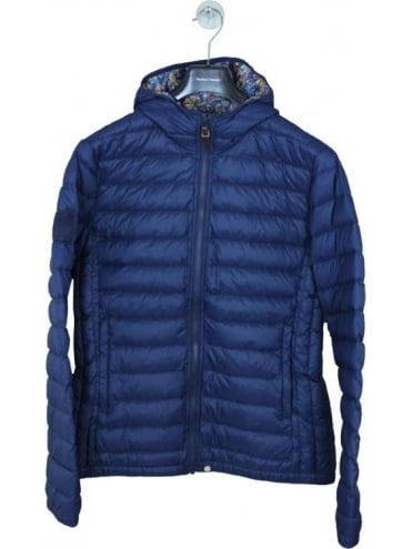 Pretty Green Pembrook Quilted Jacket - Navy