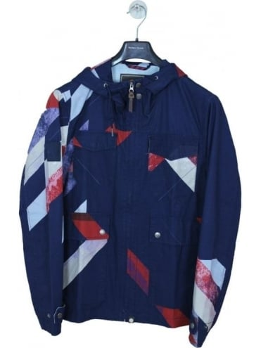 Pretty Green Kirby Dales Jacket - Navy