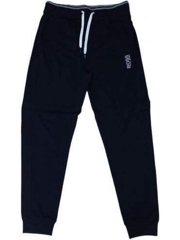- BOSS Hugo Boss - Cuffed Logo Sweat Pants - Black
