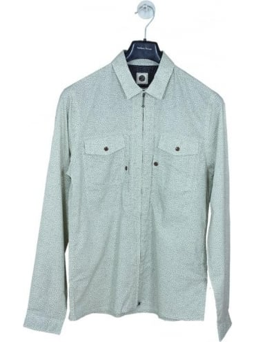 Pretty Green Mayflower Shirt - Stone