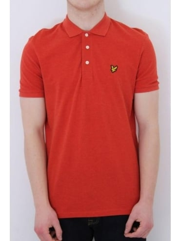 Lyle and Scott Classic Polo - Flame