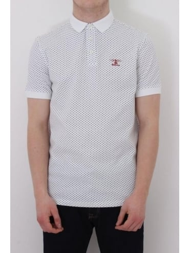 Barbour Ewan Polo - White