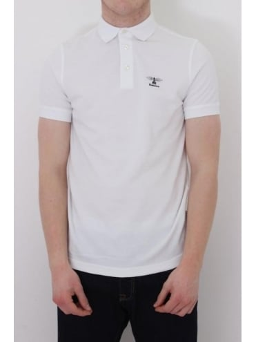 Barbour Joshua Polo - White
