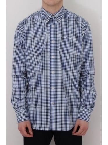 Barbour Terence Shirt In Blue