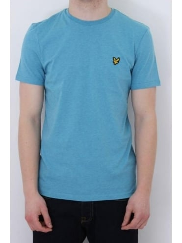 Lyle and Scott Classic Crew Neck T.Shirt - Pacific Blue