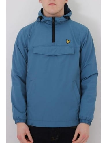 Lyle and Scott Pull Over Anorak - Teal