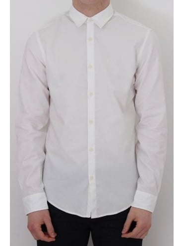 HUGO BOSS - BOSS Green C- Buster Shirt - White