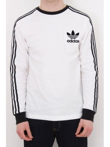 adidas Originals CLFN L/S T Shirt - White