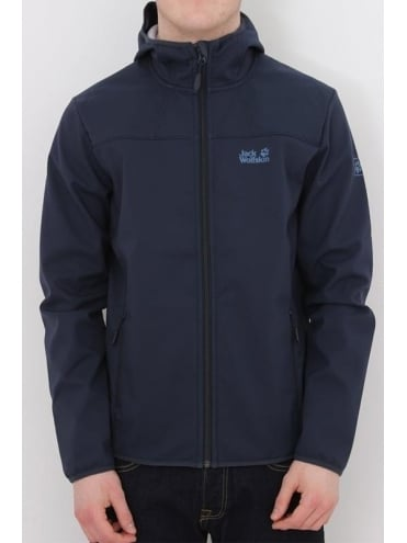 Jack Wolfskin Northern Point Softshell Jacket - Black