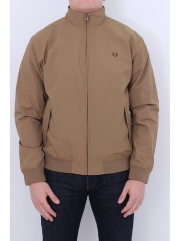Fred Perry Brentham Jacket - Brown