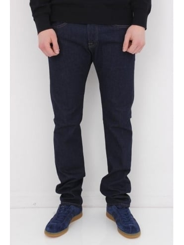 Edwin ED55 Regular Tapered Jean - Blue Rinsed