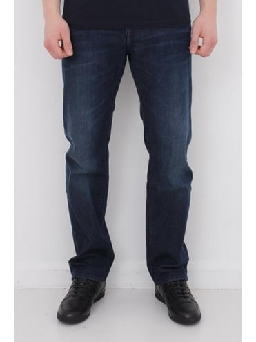 - BOSS Green C-Maine 1 Regular Fit Jeans - Navy