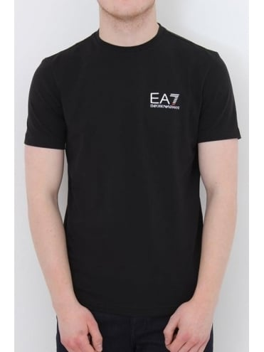 EA7 Core Logo T.Shirt In Black