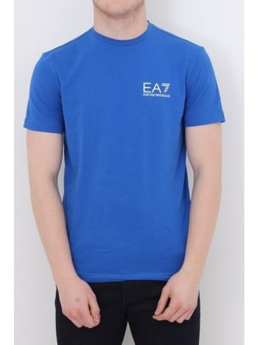 EA7 Core Logo T.Shirt - Blue