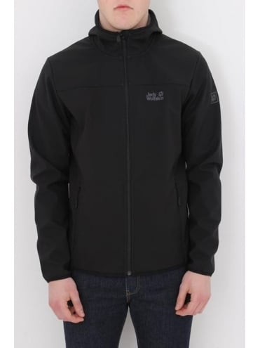 Jack Wolfskin Northern Point Softshell - Black