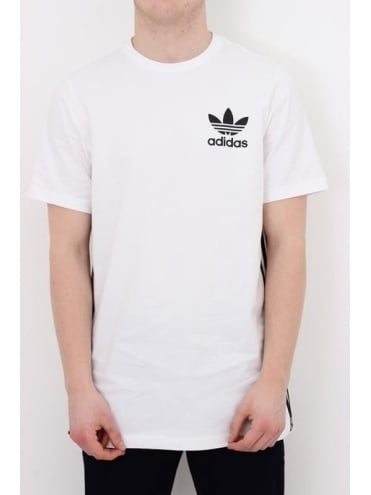 adidas Originals Elongated T.Shirt - White
