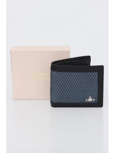 Vivienne Westwood Anglomania Wimbledon Wallet & Coin Holder - Blue