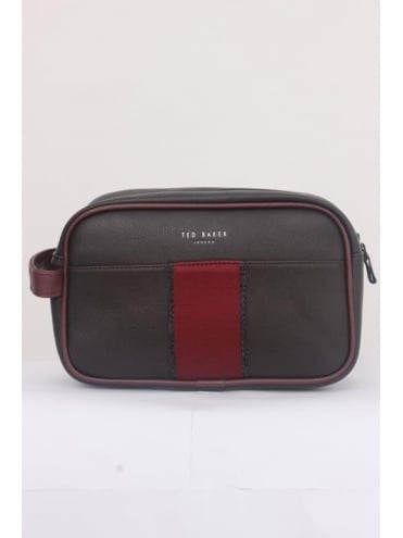 Ted Baker Nostry Towel and Washbag - Chocolate