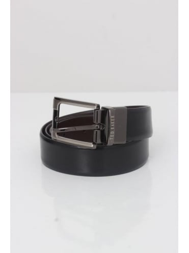 Ted Baker Crafti Reversible Belt - Black