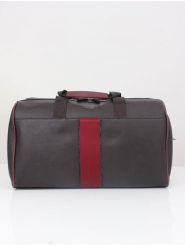 Ted Baker Kray Webbing Holdall - Chocolate