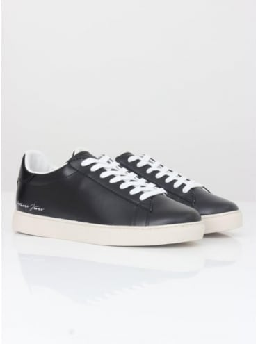 Armani Jeans Low Top Sneakers - Black