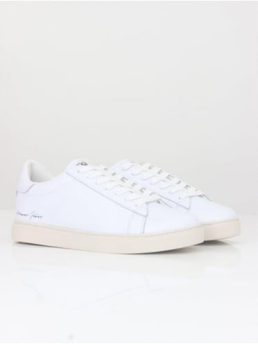 Armani Jeans Low Top Sneakers - White