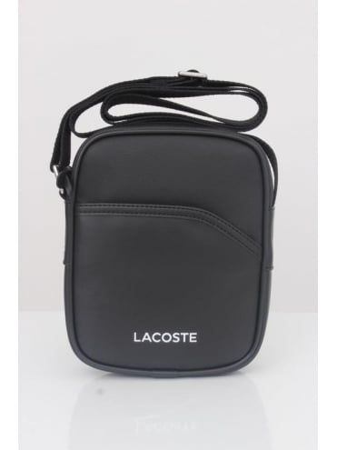 Lacoste Sport Messenger Bag - Black