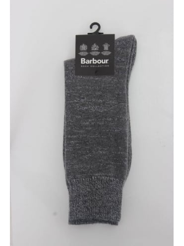 Barbour North Sea Socks - Grey
