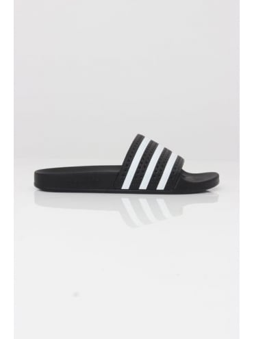 adidas Originals Adilette - Black And White