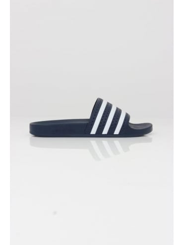adidas Originals - BOSS Green Adilette - White And Blue