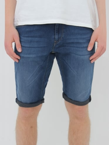 Replay Hyperfree Shorts - Mid Blue