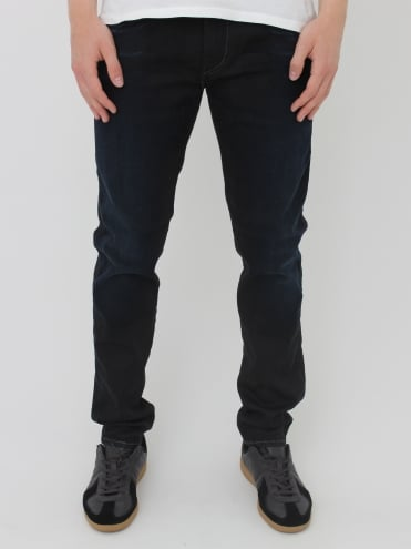 Replay Anbass Hyperflex Jeans - Black/Blue