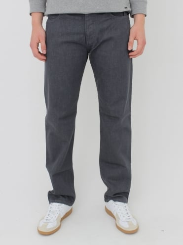 Armani Jeans J21 Regular Fit Jeans - Grey