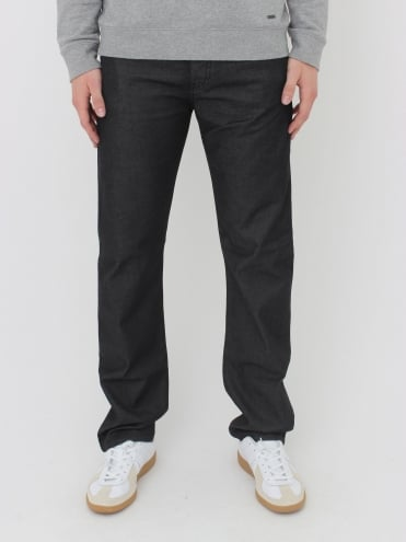 Armani Jeans J21 Regular Fit Jeans - Black