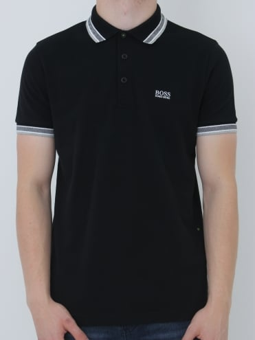 - BOSS Green Paddy Polo - Black