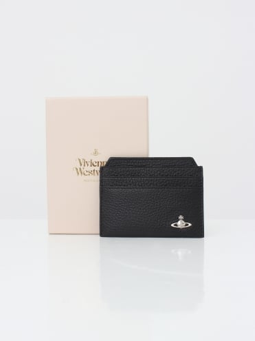 Vivienne Westwood Anglomania New Credit Card Holder Milano - Black