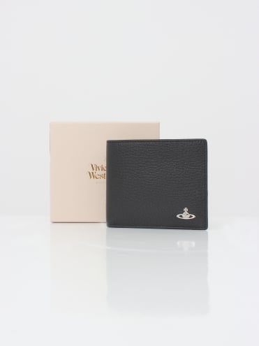 Vivienne Westwood Anglomania Milano Card Holder Wallet - Black