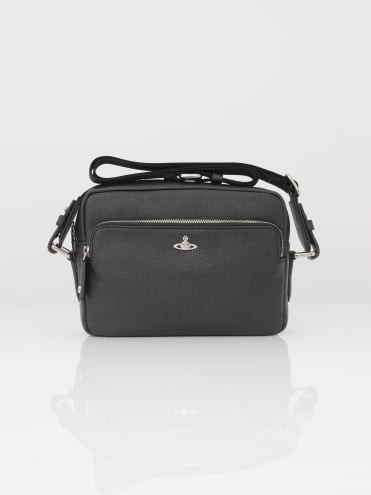 Vivienne Westwood Anglomania Milano Crossbody Bag - Black